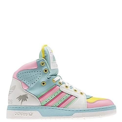 d960645e9a0c adidas Jeremy Scott License Plate Miami Shoes